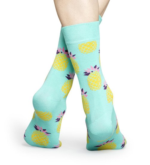 Chaussettes femme Happy Socks Pineapple PIN01-7000