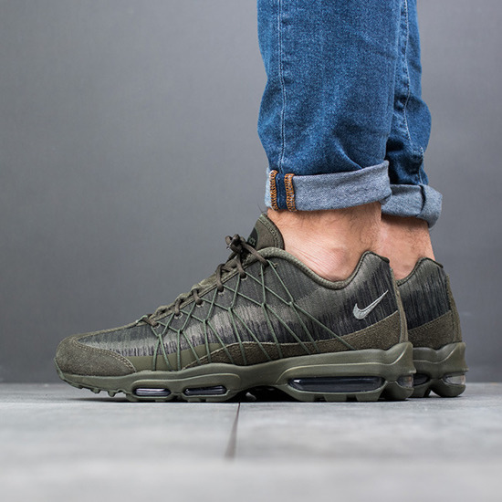 Chaussures basketes homme Nike Air Max 95 Ultra Jacquard 749771 301