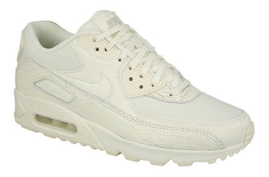 Chaussures femme sneakers Nike Air Max 90 Premium Leather 904535 100
