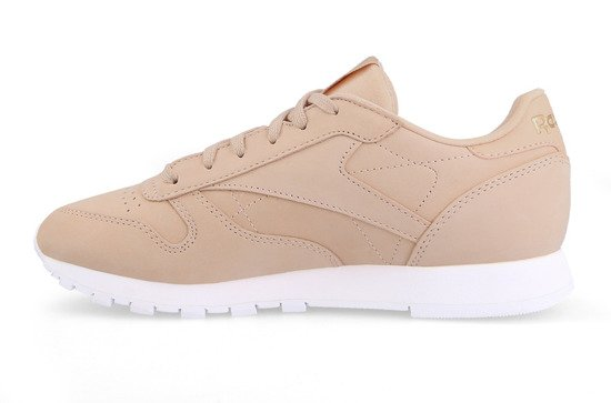 c2e6064d38116d Leather Chaussures Reebok Femme Classic Cn1504 Sneakers Nude pqq74wxIS