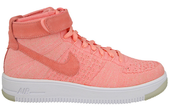Femme chaussures sneakers Nike Air Force 1 Flyknit 818018 802