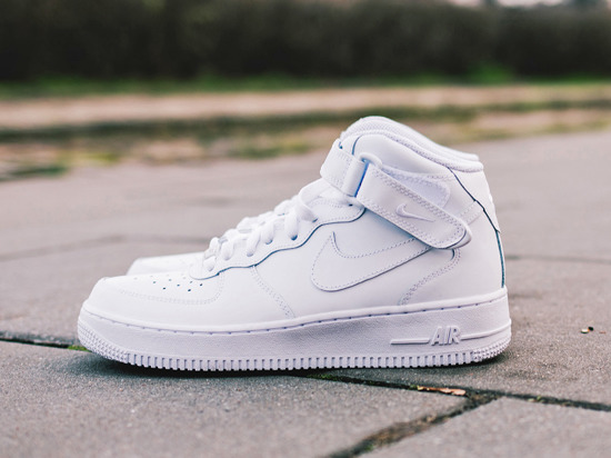 Femme chaussures sneakers Nike Air Force 1 Mid (GS) 314195 113