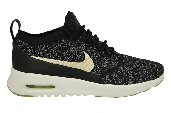 Femme chaussures sneakers Nike Air Max Thea Ultra Flyknit Metallic Gold 881564 001