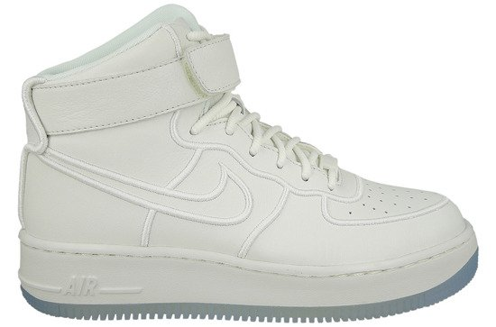 Femme chaussures sneakers Nike Wmns Air Force 1 Upstep Hi Si 881096 100