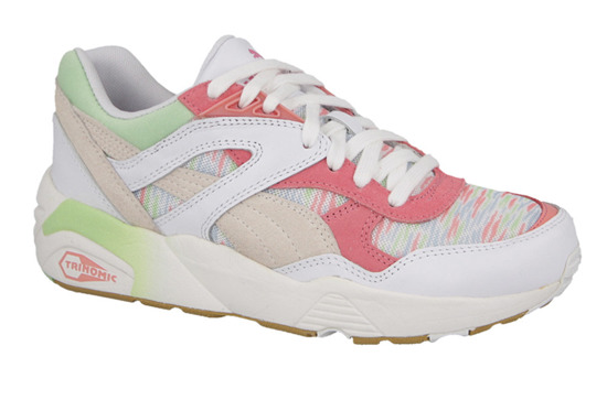 Femme chaussures sneakers Puma R698 Coastal 358070 01