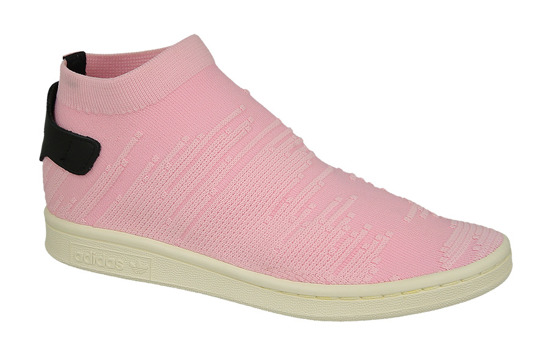 Femme chaussures sneakers adidas Stan Smith Sock Primeknit BY9250