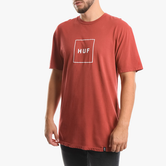 HUF Box Logo TS00507 RED
