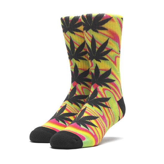 HUF Good Trip Plantlife SK00407 BLAZING YELLOW
