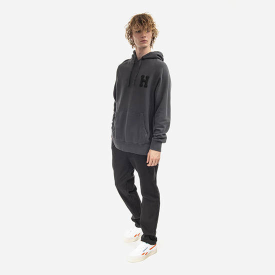 HUF Monotone P/O Fleece FL00127 BLACK