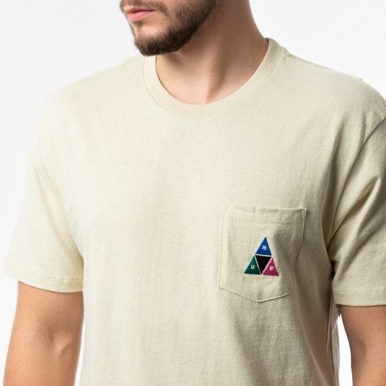 HUF Prism Triple Triangle TS00890 OYSTER WHITE
