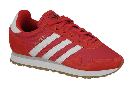 "Homme chaussures sneakers adidas Originals Haven ""Red"" BY9714"