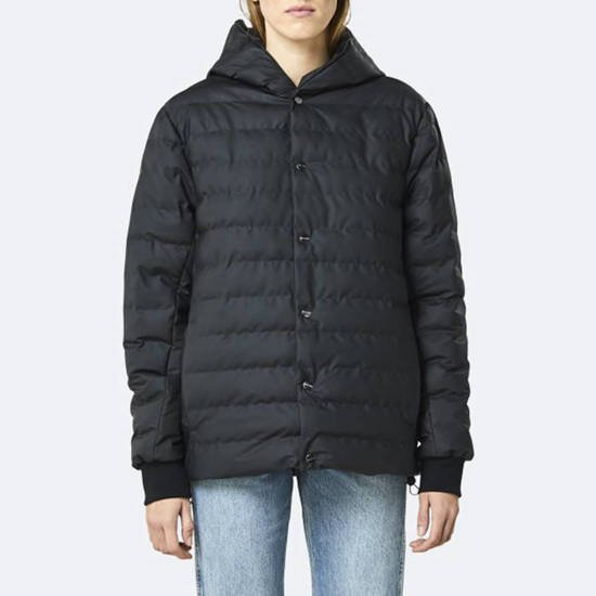 Rains Trekker Hooded Jacket 1530 BLACK