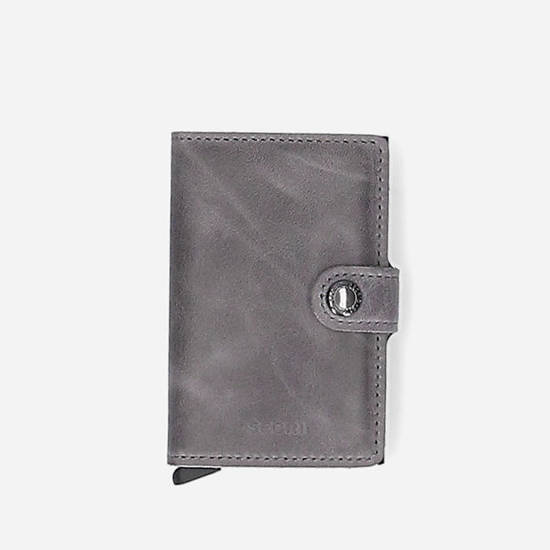 Secrid Miniwallet Vintage MV-Grey-Black