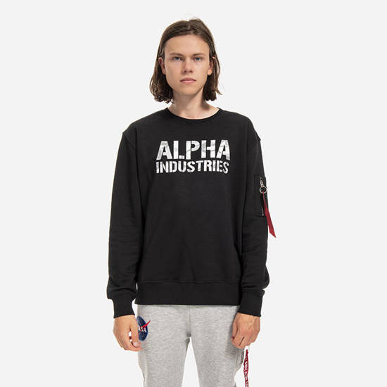 Sweatshirt homme Alpha Industries Camo Print 176301 95