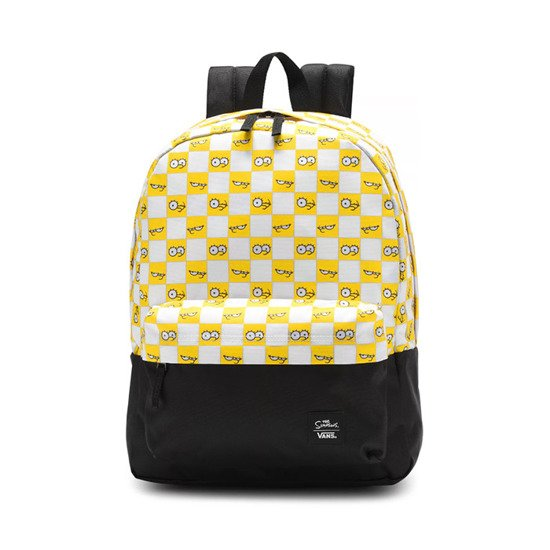 Vans x The Simpsons Check Eyes Backpack VN0A4V44ZZY