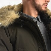 Carhartt WIP Anchorage Parka I027126 CYPRESS/BLACK