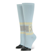 Femme Chaussettes Stance Rihanna Tip Toe Baby W714A16RIH Blue