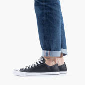 Femme chaussures sneakers CONVERSE CHUCK TAYLOR ALL STAR SKÓRA 132174C