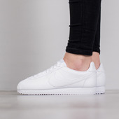 Femme chaussures sneakers Nike Wmns Classic Cortez Leather 807471 102