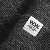 Wood Wood Gerald Tall Beanie 11930812-4068 Grey Melange